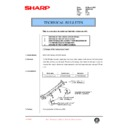 Sharp AR-200 (serv.man119) Technical Bulletin