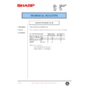 Sharp AR-200 (serv.man121) Technical Bulletin