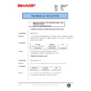 Sharp AR-200 (serv.man122) Technical Bulletin