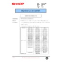 Sharp AR-200 (serv.man123) Technical Bulletin