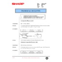 Sharp AR-200 (serv.man124) Technical Bulletin