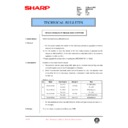 Sharp AR-200 (serv.man126) Technical Bulletin