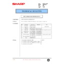 Sharp AR-200 (serv.man127) Technical Bulletin
