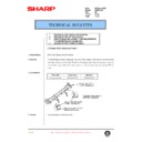 Sharp AR-200 (serv.man128) Technical Bulletin