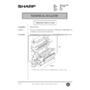 Sharp AR-200 (serv.man129) Technical Bulletin