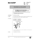 Sharp AR-200 (serv.man130) Technical Bulletin