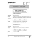 Sharp AR-200 (serv.man134) Technical Bulletin