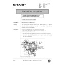 Sharp AR-200 (serv.man139) Technical Bulletin