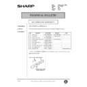 Sharp AR-200 (serv.man140) Technical Bulletin