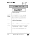 Sharp AR-200 (serv.man142) Technical Bulletin