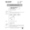 Sharp AR-200 (serv.man145) Technical Bulletin