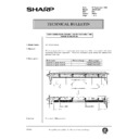 Sharp AR-200 (serv.man150) Technical Bulletin