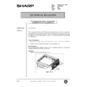 Sharp AR-200 (serv.man151) Technical Bulletin