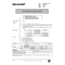 Sharp AR-200 (serv.man153) Technical Bulletin