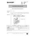 Sharp AR-200 (serv.man159) Technical Bulletin