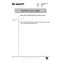 Sharp AR-200 (serv.man160) Technical Bulletin