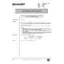 Sharp AR-200 (serv.man162) Technical Bulletin