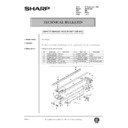 Sharp AR-200 (serv.man163) Technical Bulletin