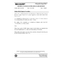 Sharp AR-200 (serv.man167) Technical Bulletin