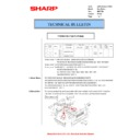 Sharp AR-200 (serv.man23) Technical Bulletin