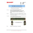 Sharp AR-200 (serv.man25) Technical Bulletin