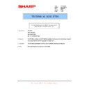 Sharp AR-200 (serv.man30) Technical Bulletin
