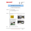 Sharp AR-200 (serv.man31) Technical Bulletin