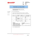 Sharp AR-200 (serv.man33) Technical Bulletin