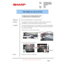 Sharp AR-200 (serv.man37) Technical Bulletin