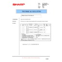 Sharp AR-200 (serv.man39) Technical Bulletin