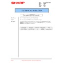 Sharp AR-200 (serv.man51) Technical Bulletin