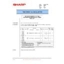 Sharp AR-200 (serv.man54) Technical Bulletin