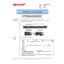 Sharp AR-200 (serv.man55) Technical Bulletin