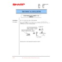 Sharp AR-200 (serv.man58) Technical Bulletin