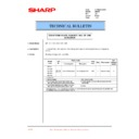 Sharp AR-200 (serv.man59) Technical Bulletin