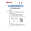 Sharp AR-200 (serv.man61) Technical Bulletin