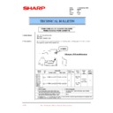 Sharp AR-200 (serv.man62) Technical Bulletin