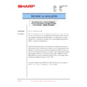 Sharp AR-200 (serv.man64) Technical Bulletin