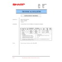 Sharp AR-200 (serv.man67) Technical Bulletin