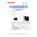 Sharp AR-200 (serv.man69) Technical Bulletin