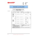 Sharp AR-200 (serv.man70) Technical Bulletin