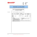 Sharp AR-200 (serv.man71) Technical Bulletin
