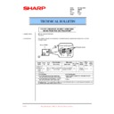 Sharp AR-200 (serv.man72) Technical Bulletin