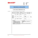 Sharp AR-200 (serv.man74) Technical Bulletin