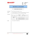 Sharp AR-200 (serv.man75) Technical Bulletin