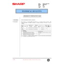 Sharp AR-200 (serv.man77) Technical Bulletin