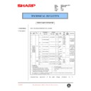 Sharp AR-200 (serv.man78) Technical Bulletin