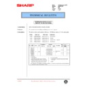 Sharp AR-200 (serv.man80) Technical Bulletin