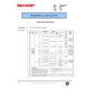 Sharp AR-200 (serv.man81) Technical Bulletin