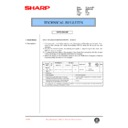 Sharp AR-200 (serv.man83) Technical Bulletin